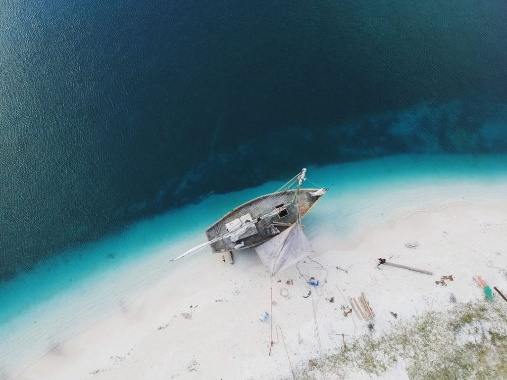 Baie du Mesle, partir à haiti
